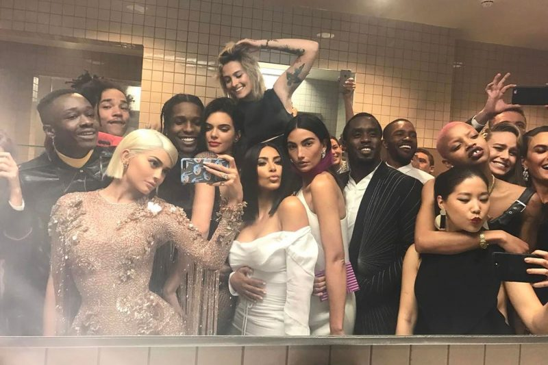 Kim Kardashian Met Gala Bathroom Selfie