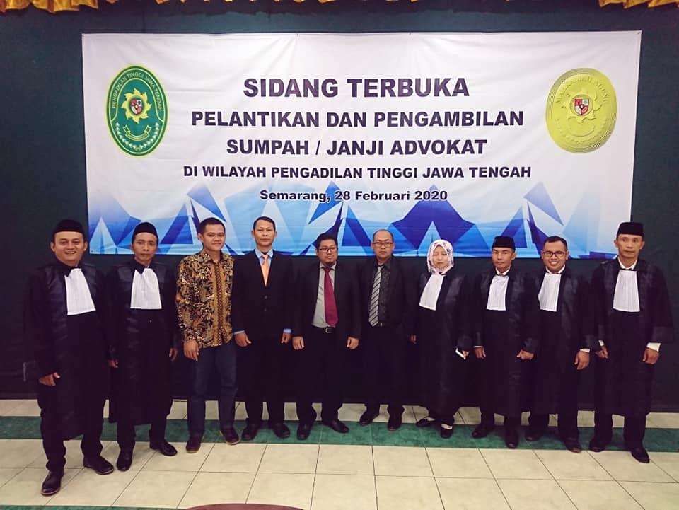 sumpah-advokat-PT-Jawa-Tengah